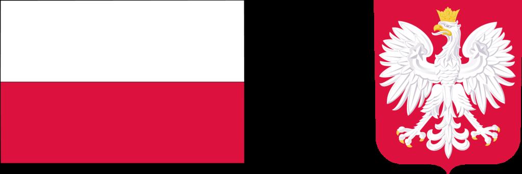 flaga Polski, godło Polski